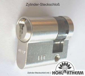Zylinder-Steckschloss