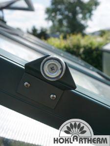 Türfeststeller mit Magnet, komplett mit Türstopperblech